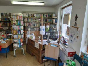 Bücherstadl in Corona-Zeiten