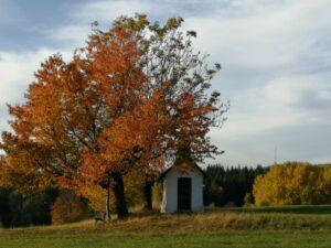 Herbststimmung an der Kapelle